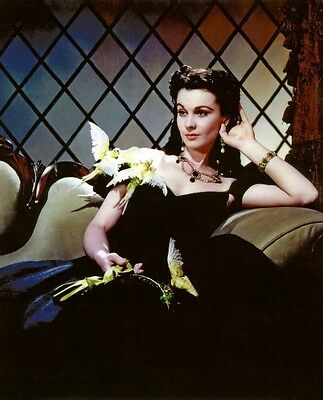 """VIVIEN LEIGH - GONE WITH THE WIND - SCARLETT' O'HARA'S """"LOST COSTUME"""" PHOTOGRAPH"""