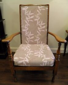 NEW SALE PRICE - GORGEOUS ANTIQUE MAHOGANY ARM CHAIR - WE CAN DELIVER