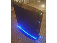 Sony Playstation 3 with Chidrens, Sports and Adult Shooter games. 120GB - Slim Console-CECH 2003A