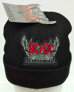 AC-DC-BLACK-ICE-OFFICIAL-BLACK-BEANIE-ONE-SIZE-FITS-MOST-BNWT