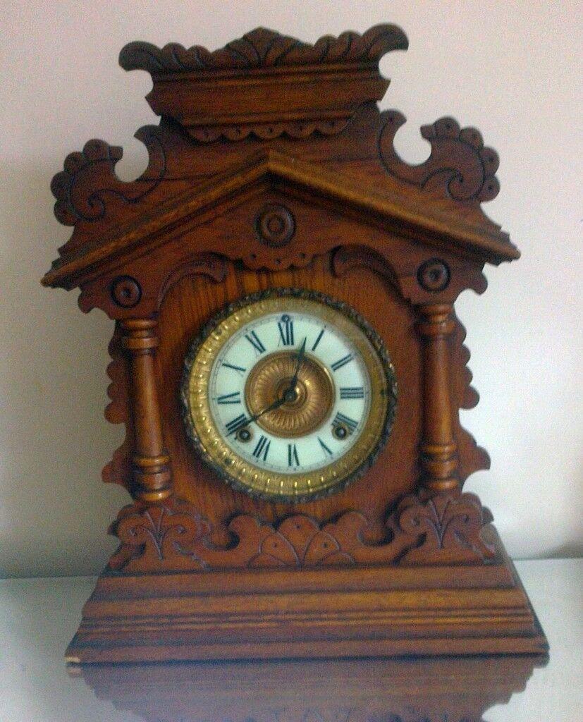dating ansonia mantle clock