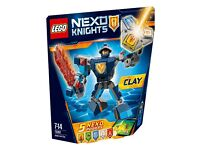 LEGO 70362 (New) Nexo Knights Battle Suit Clay 79 Pieces