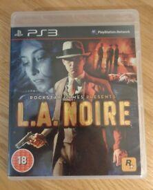 PS3 - L. A. Noire * Excellent Condition*