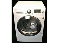 LG USED 11KG WASHING MACHINE + FREE BH ONLY POSTCODES DELIVERY, INSTALLATION & 3 MONTHS GUARANTEE