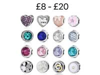 Sterling silver charms - New - fit Pandora