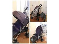 Chicco pushchair with buggy