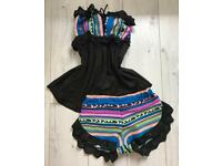 Handmade resort co-ord 2 piece from Bliss Intimates size 6/8