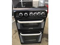 //(%)\ CANNON BLACK GAS COOKER INCLUDES 6 MONTHS GUARANTEE