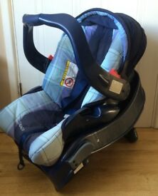 Used Graco baby ca seat with base
