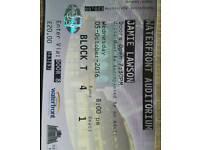2 Jamie Lawson tickets Waterfront Hall.