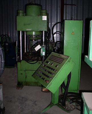 200 Ton Dongsung Hydraulic Shell Press 4-post