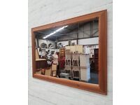 Rectangular Pine Wall Mirror (DELIVERY AVAILABLE)
