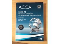 ACCA paper F7 study text