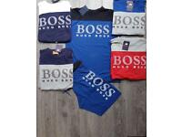 Tshirt & shorts set Hugo boss
