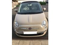 Fiat 500 convertible open to offers