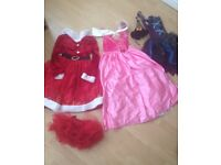 Girls Fancy Dress Bundle Disney size S/M/L - 7-10 yr x6