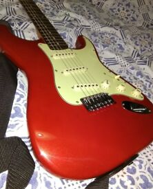 Jim Deacon Strat Electric Guitar & Amp