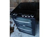black Electrolux 60cm freestanding electric cooker