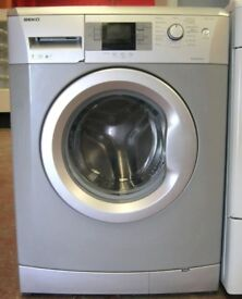 11 Beko WMB71442S 7kg 1400 Spin Silver LCD A++ Rated Washing Machine 1 YEAR GUARANTEE FREE DEL N FIT