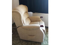 As new large remote control Celebrity Riser-Recliner Chair