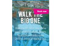 2 Tickets for walk the big one at blackpool 5pm climb friday 23rd march