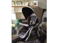 Running / jogging pushchair