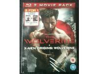 THE WOLVERINE + X-MEN ORIGINS : WOLVERINE BLURAY