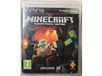 SONY PLAYSTATION 3 PS3 MINECRAFT KIDS CHILDRENS GAME NOT PS4 XBOX 1 360 GTA 5 COD CALL OF DUTY LEGO