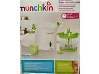 Steam Guard Rapid Electric Steriliser Munchkin