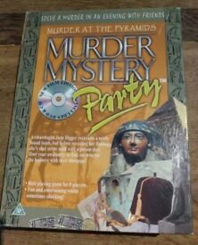 Murder Mystery party game - Murder at the pyramids - unused