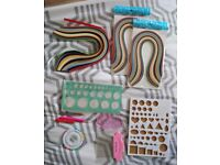 Brand new paper quilling kit