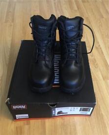 Magnum Strike Force 6.0 Waterproof Steel Toe Boots (SIZE 10)