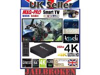 MXQ 4K Android TV Box FREE Movies Football Sports Channels FULLY LOADED Latest Version KODI MOBDRO
