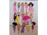 15 Dolls mainly Barbie