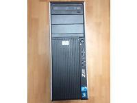 HP Z400 Workstation PC Intel Xeon Quad , 8GB RAM - Very fast computer like iMac Dell XPS Macbook Pro