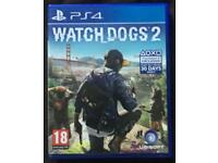 WATCHDOGS 1+2 PS4