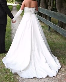Alfred Angelo wedding dress style 2023 white/silver 300
