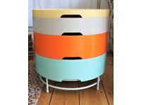Side or coffee table, storage, 4 'trays', multicoloured, Ikea
