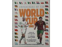 Superstars of the Fifa World Cup 2002 Football Books/book – post or collect