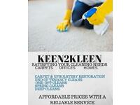 End of tenancy, Start of tenancy, Deep Cleaning, Carpet Cleaning, One-off cleans, Regular Cleaning