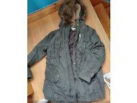 Maternity winter coat