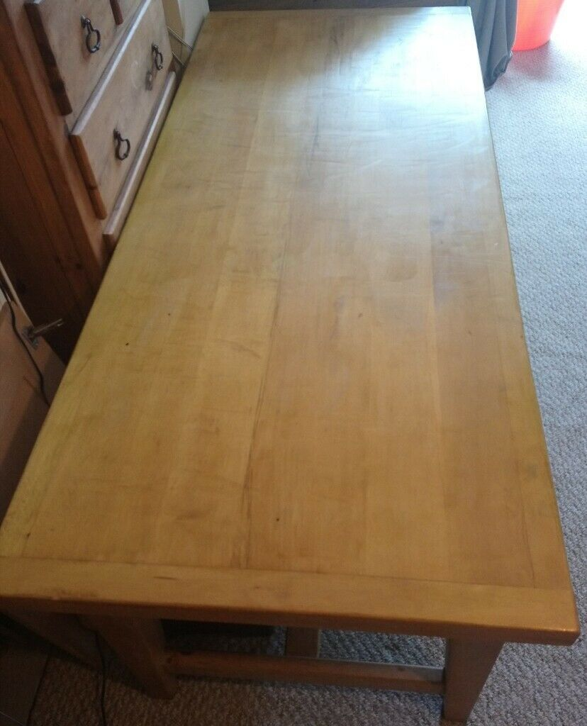 Solid Wood Large Table Well Loved But Still Beautiful In Weston Super Mare Somerset Gumtree