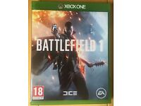Battlefield 1 XBOX ONE game