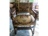 Antique Masters Chair Decorative