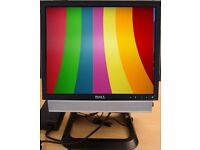 DELL OPTIPLEX DUAL CORE 4GB RAM AND 160GB HARD DISK 17 INCH SCREEN ,WINDOWS7 ,OFFICE DVD WIFI ,