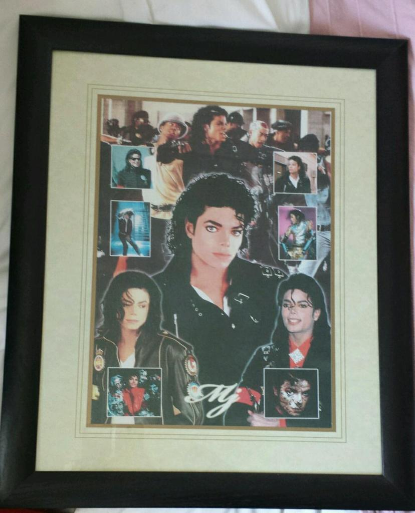 New Framed Michael Jackson Picture