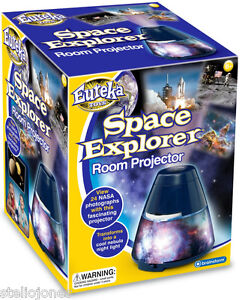 SPACE-EXPLORER-ROOM-PROJECTOR-NASA-EUREKA-TOYS-HIGH-QUALITY-NIGHT-LIGHT-Sealed