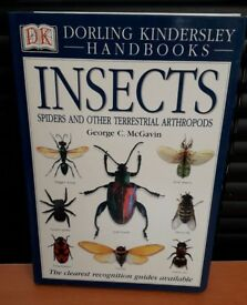 INSECTS SPIDERS & OTHER TERRESTRIAL ARTHROPODS by George C. McGavin