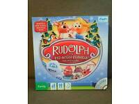 Like New - Rudolph Game and Dvd