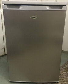 Logik LUL55S12 Silver Undercounter Fridge - Immaculate Condition - Enderby - STA21